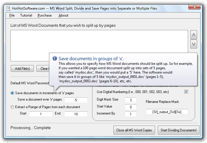 MS Word Merge Combine or Join Multiple MS Word Documents into One Software