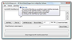 MS Word Extract Images from multiple files