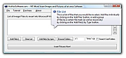 MS Word Insert Images and Pictures all at once